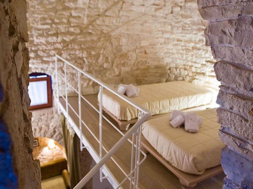 Hotel Le Alcove: dormindo na cúpula de pedras de um trullo
