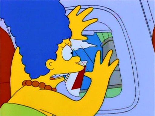 Quem nunca, não é mesmo, Marge Simpson?