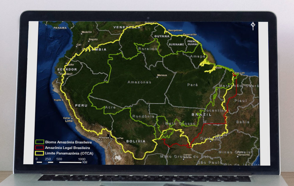 Brasil, Bolívia, Peru, Equador, Colômbia, Venezuela, Guiana, Suriname e Guiana Francesa — a Amazônia abrange nove dos treze países sulamericanos