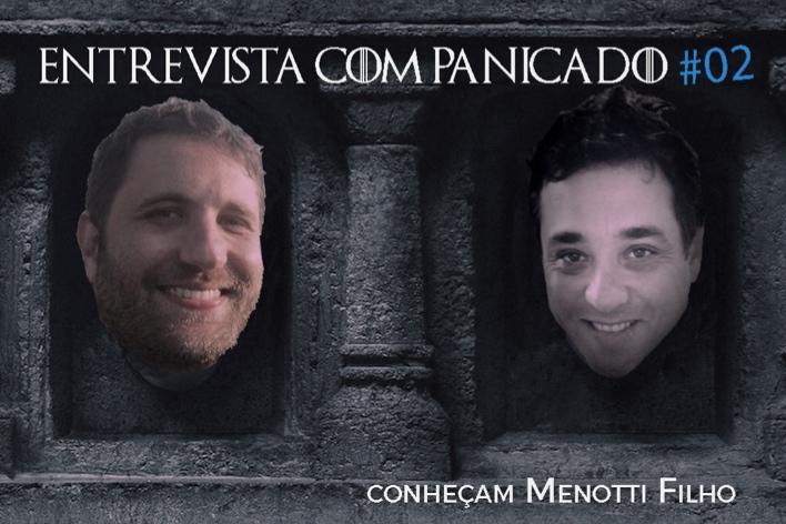 O paulista Menotti Filho se junta à Sandra Sobral e ao ilustre Panicado High por aquilo que nos une: o medo horrendo de voar