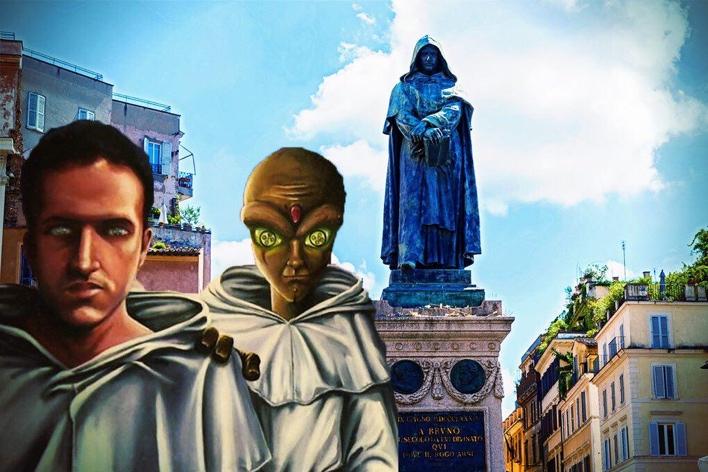 Nada de mundo invertido: no Stranger Things nacional as conexões do protagonista dessa história são com a cidade de Roma e sua praça Campo de'Fiori