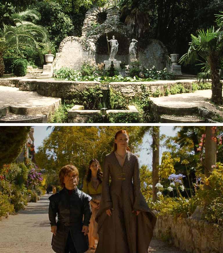 Que tal passear nos jardins de King`s Landing? Na Croácia, isso é possível (Foto: HBO)