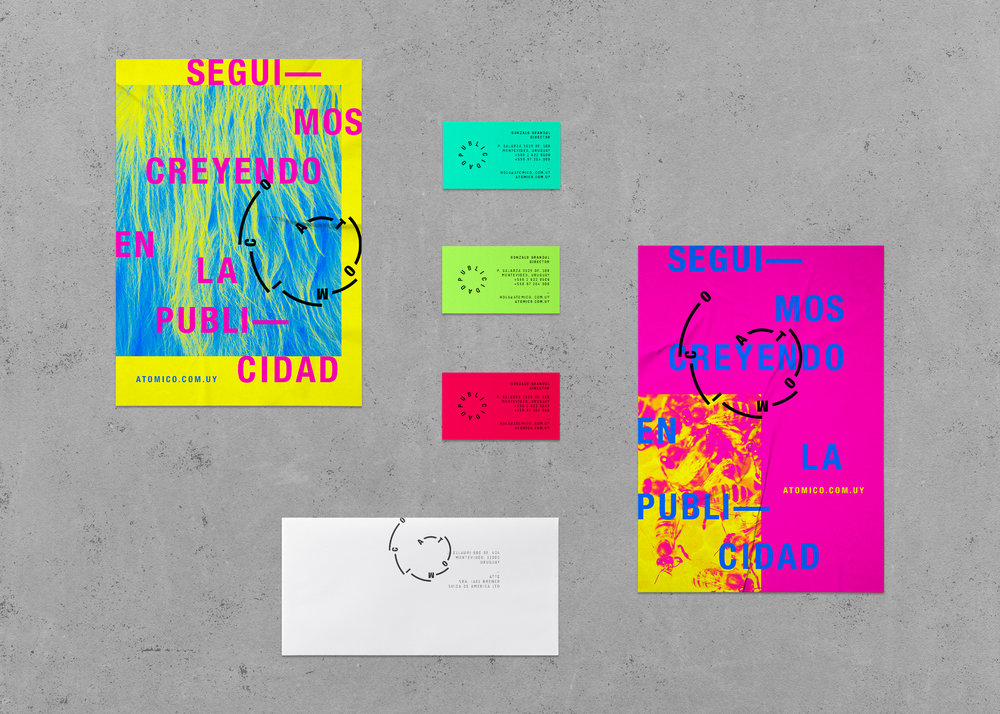ATOMICO_Posters-Business-Cards