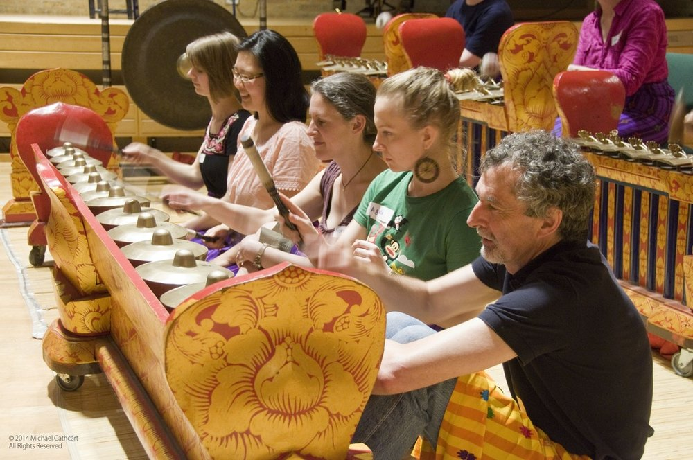 gamelan at Jacqueline de Pre Building Oxford University 6.jpg
