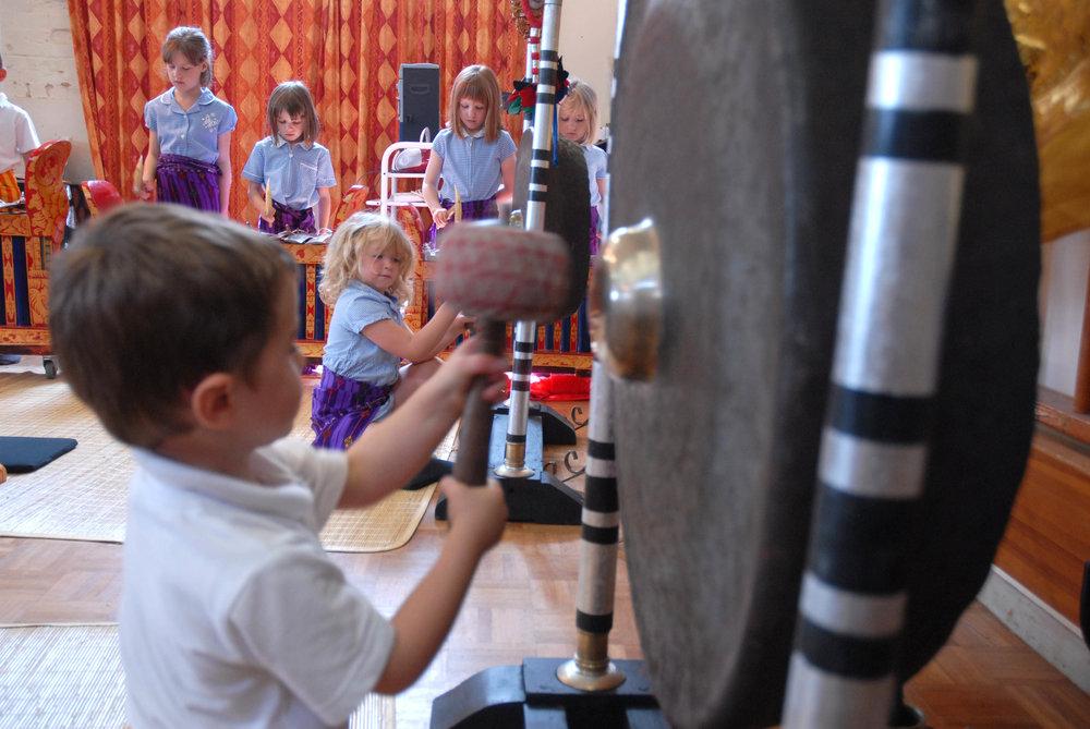 Gong Gang EYFS workshop