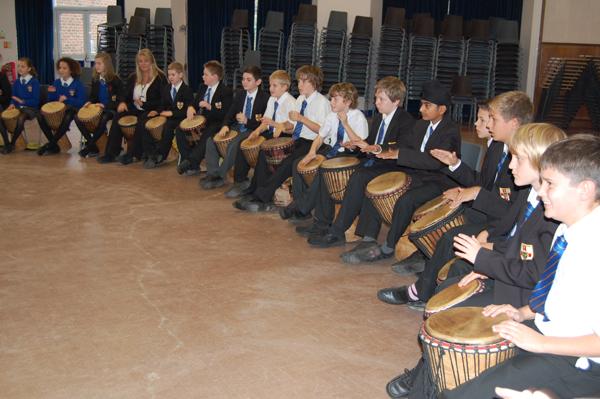 Key Stage 3 West African Drumming Workshop