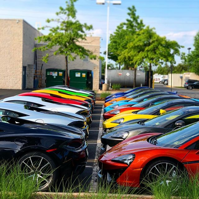 Which color #mclaren would you pick?🤔 We would choose the #wipers green! ♻️ Wishing everyone a safe and wonderful 4th of July🇺🇸🎆