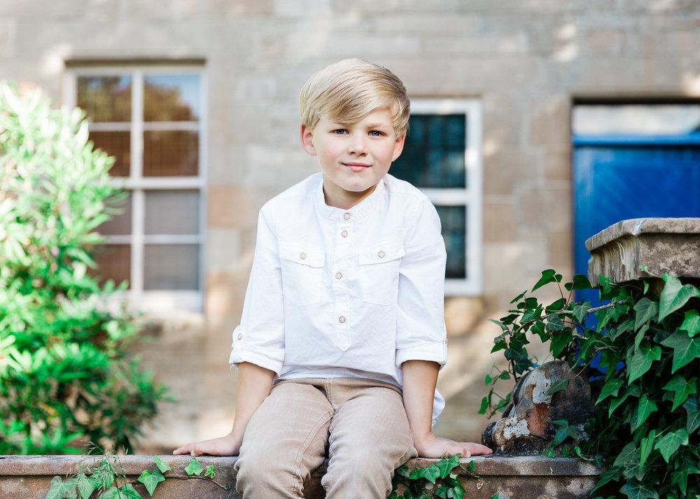 Aberdeen Family Photographer children's portrait Banchory