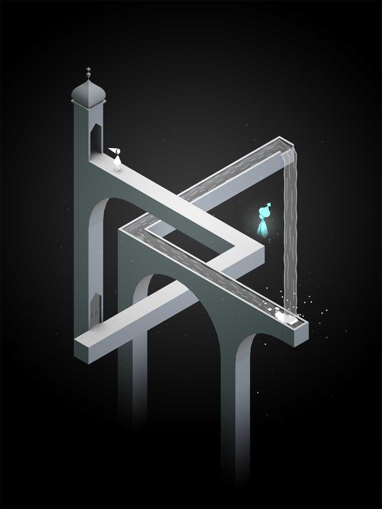 Screenshot from Monument Valley (the game)