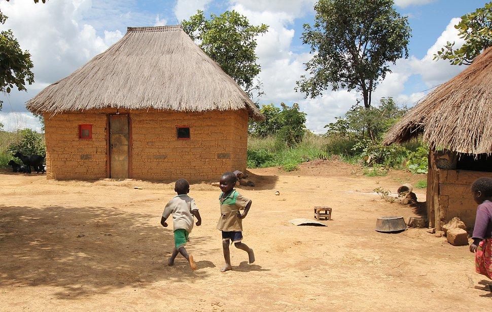 Kids in Kaoma, Zambia