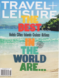 Travel + Leisure August 2016 Cover