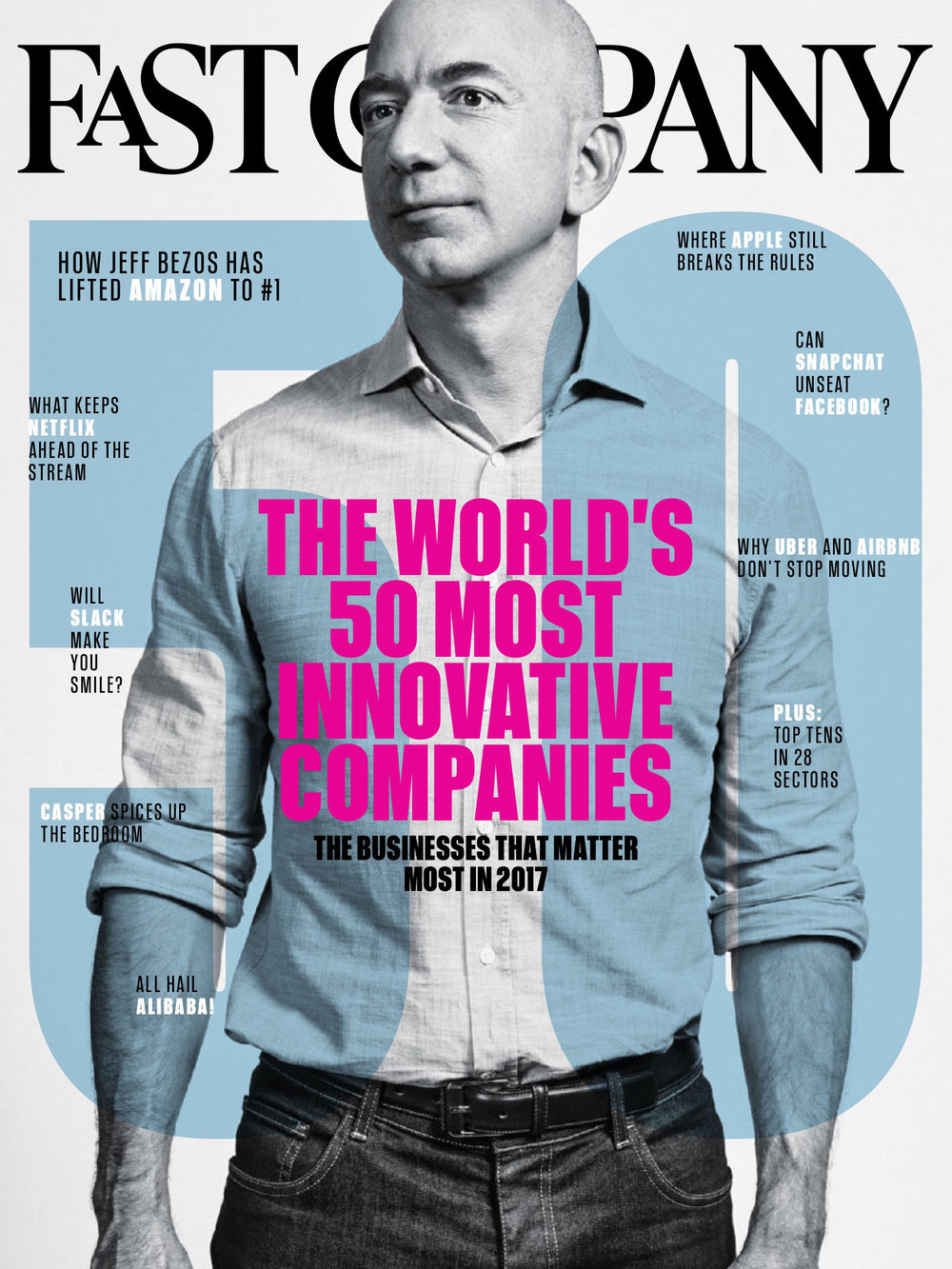 Fast Company 2017 Innovation Cover