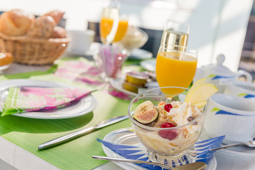 Binoth Spiez Frühstückstisch