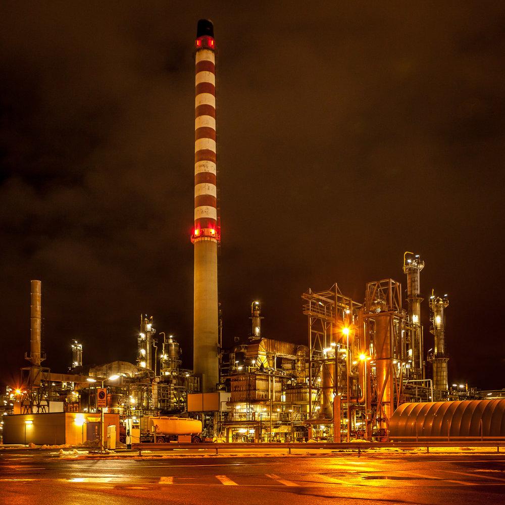 Raffinerie, Cressier
