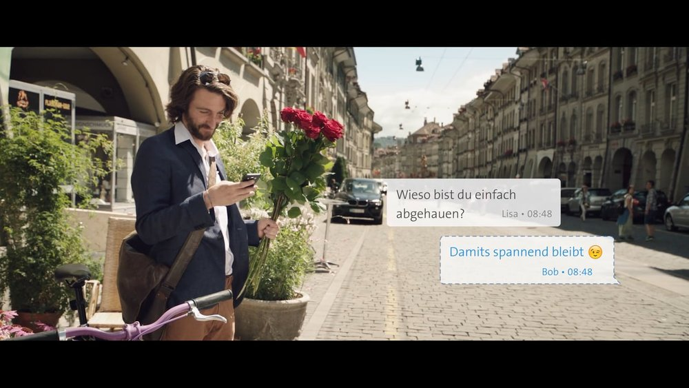 Corporate Film «Swisscom iO - Life of Bob»