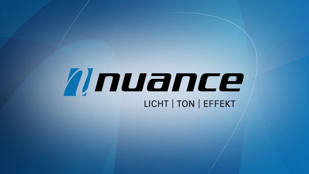 Logo Animation «Nuance Veranstaltungstechnik GmbH»