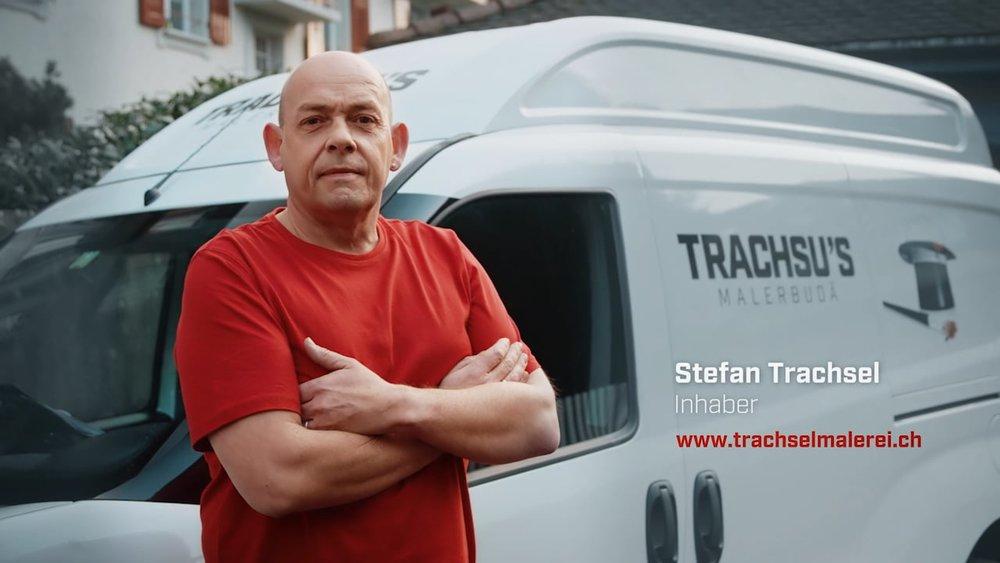 Werbespot «Trachsus Malerbudä»