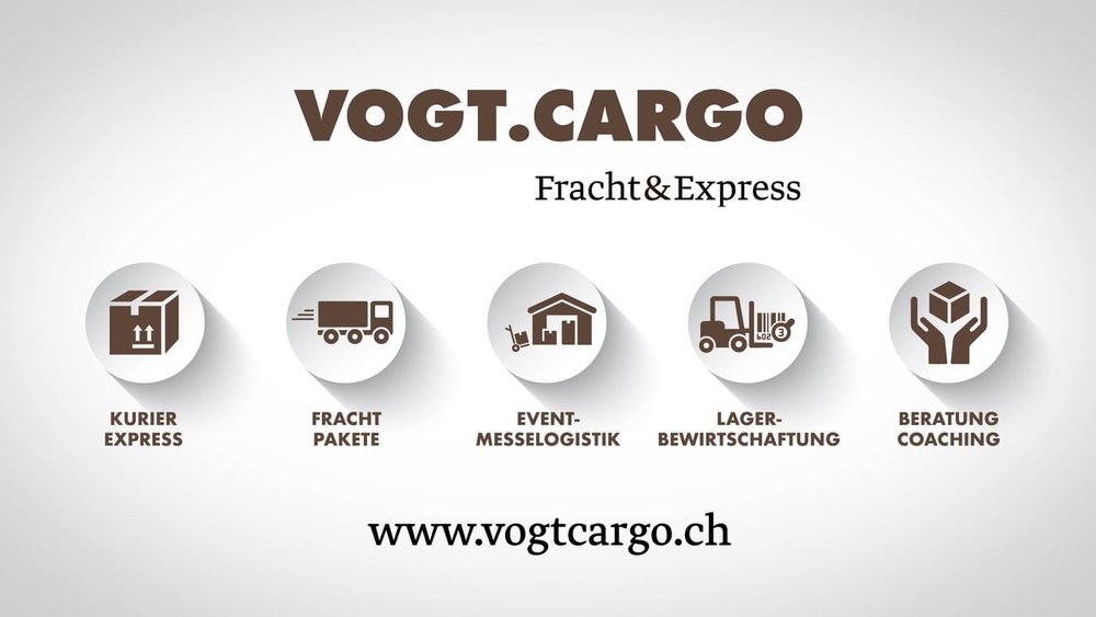 Werbespot «Vogt.Cargo - Fracht & Express»