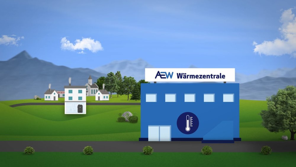 Explainer Video «AEW Wärmeverbund»