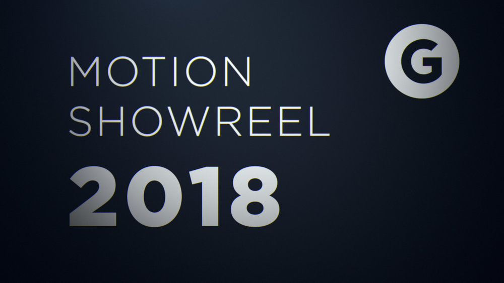 Motion Showreel 2018