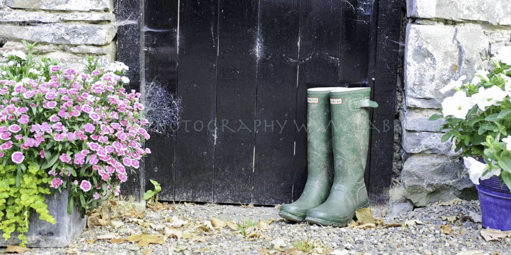 Wellies at the door, Home Decor