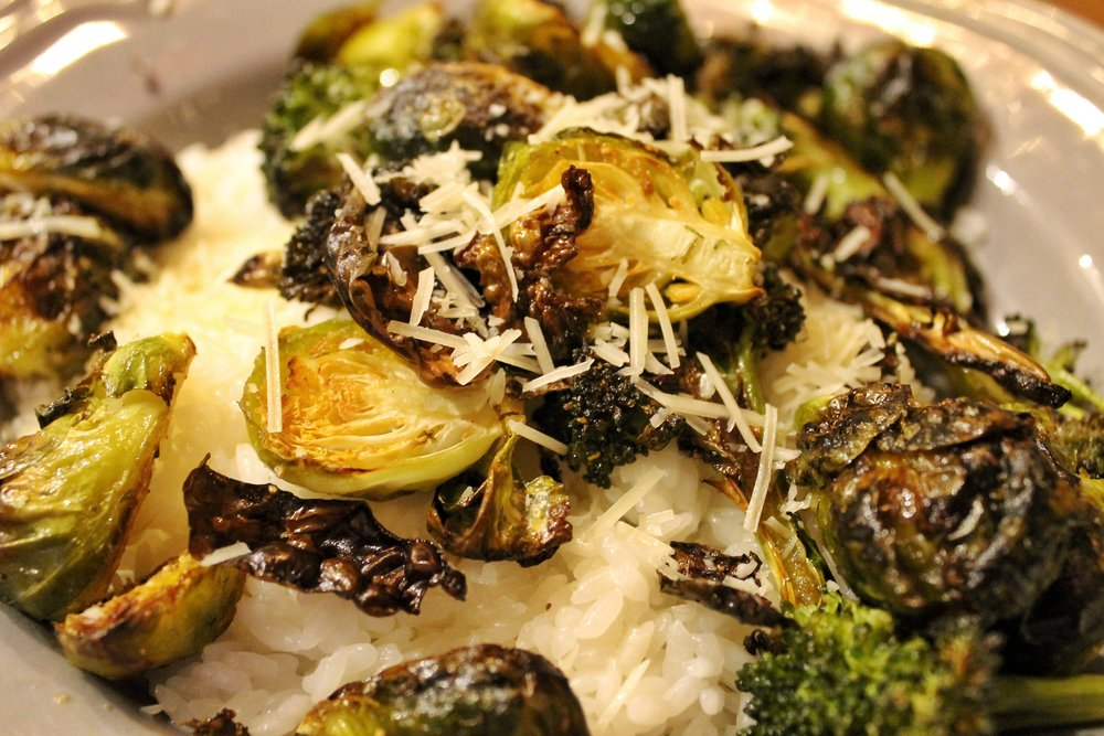 Brussel Sprouts & Broccoli
