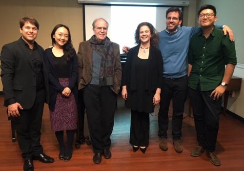 Victor Cayres, Haeshin Shin, Joshua Rifkin, Gila Goldstein, William Ward, Jan Tao Yu (missing Konstantinos Papadakis)