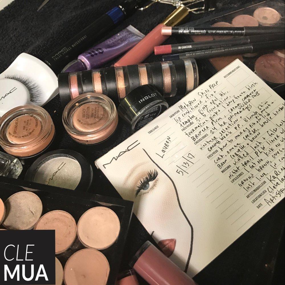 cleveland makeup artist private lesson