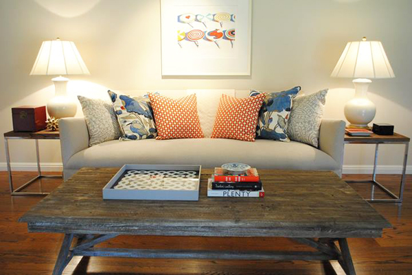 living room // Design Spotlight: Nest Design Co. // Arianna Belle Blog