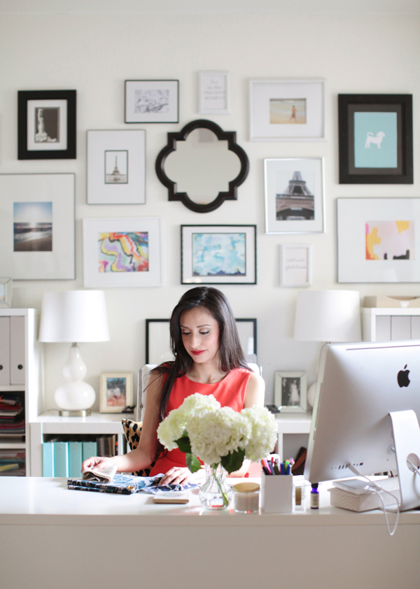 Arianna Belle Home Tour // Office // Photography by Esther Sun