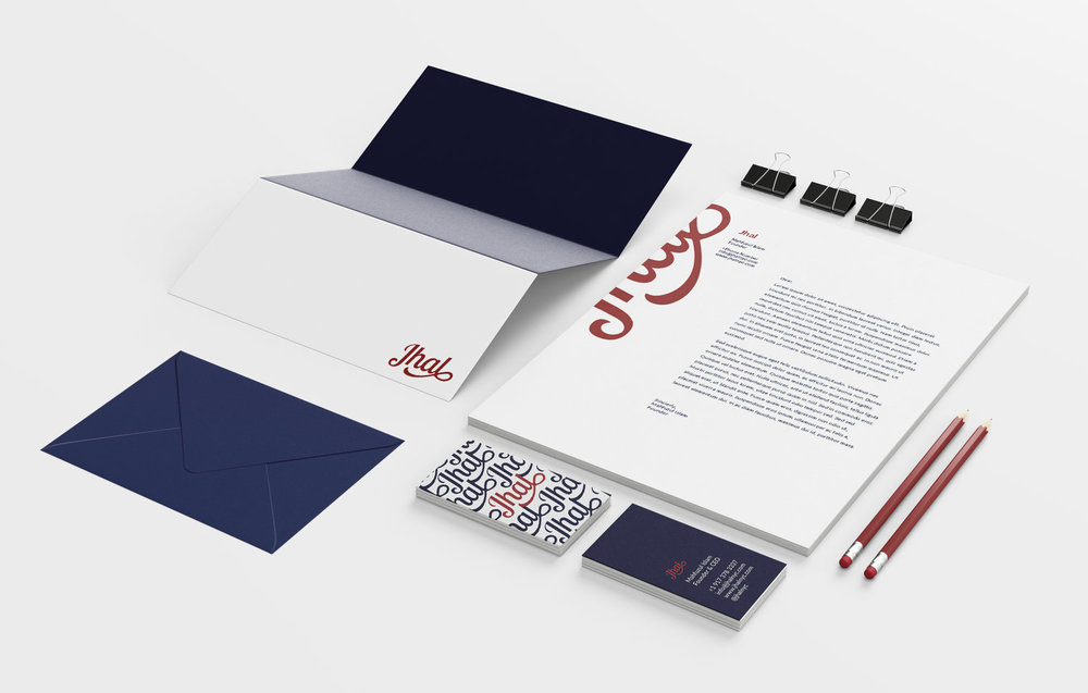 Jhal | Brand Direction, Visual Identity, Web Design & Illustration