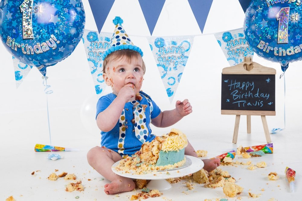 CAKE SMASH - Celebrate their first birthday in style with a fun and interactive Cake Smash… READ MORE