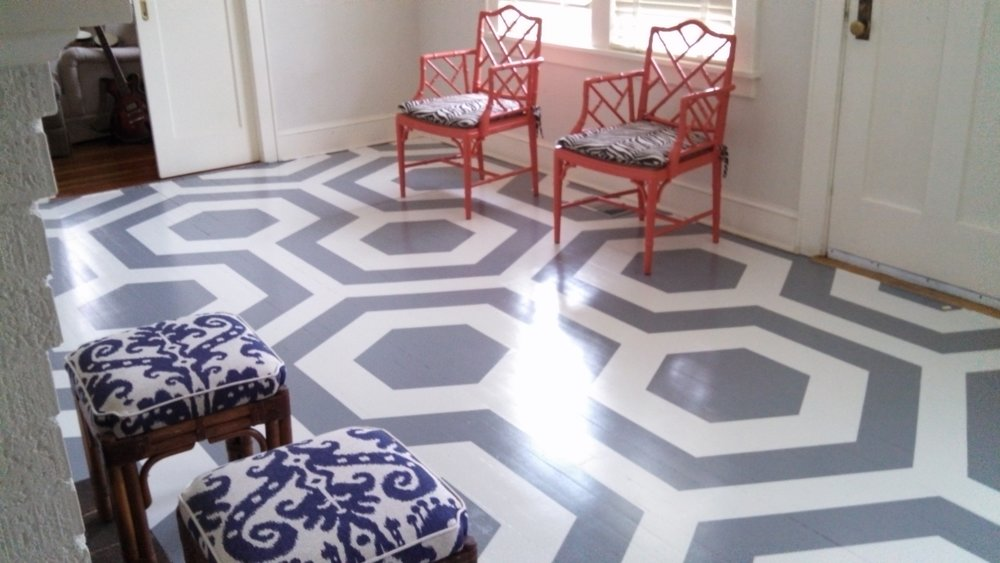 Decorative Floor Painting