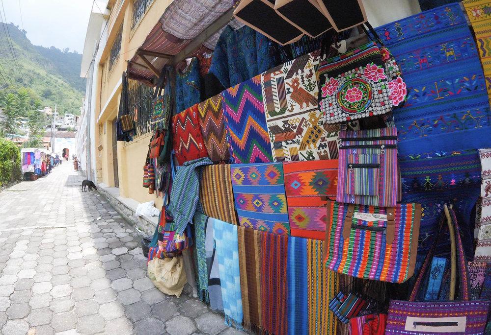Santa Catarina Palopo Market