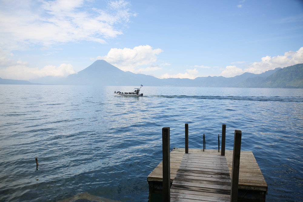 Atitlan Lake View from Villas Balam Ya