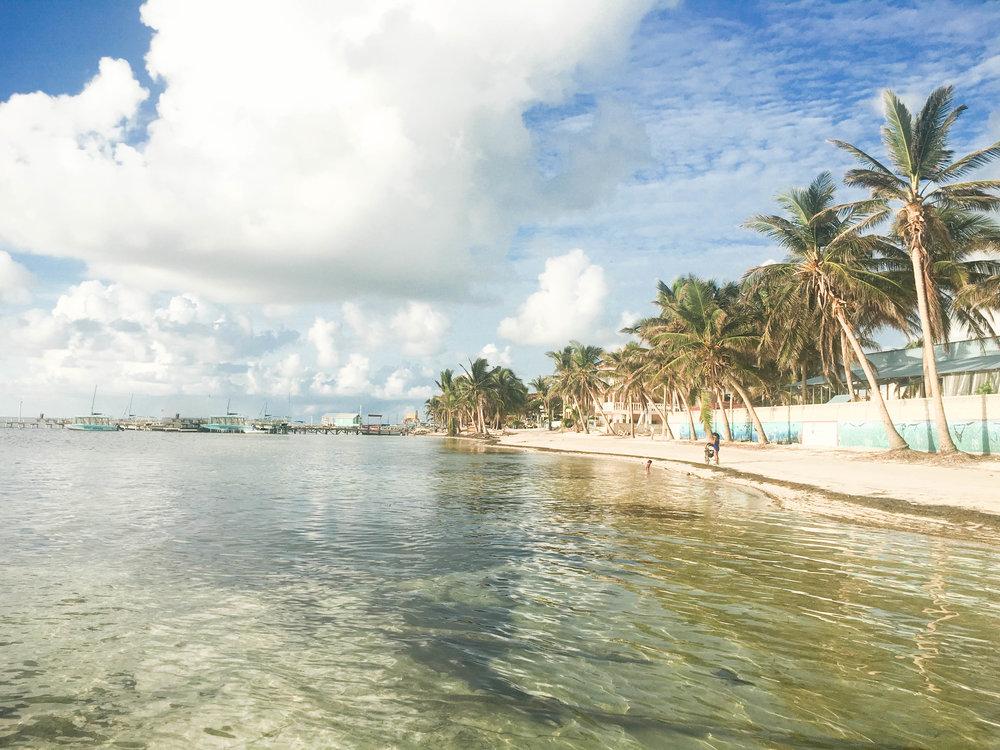 Beach front at Ocean Tide Resort