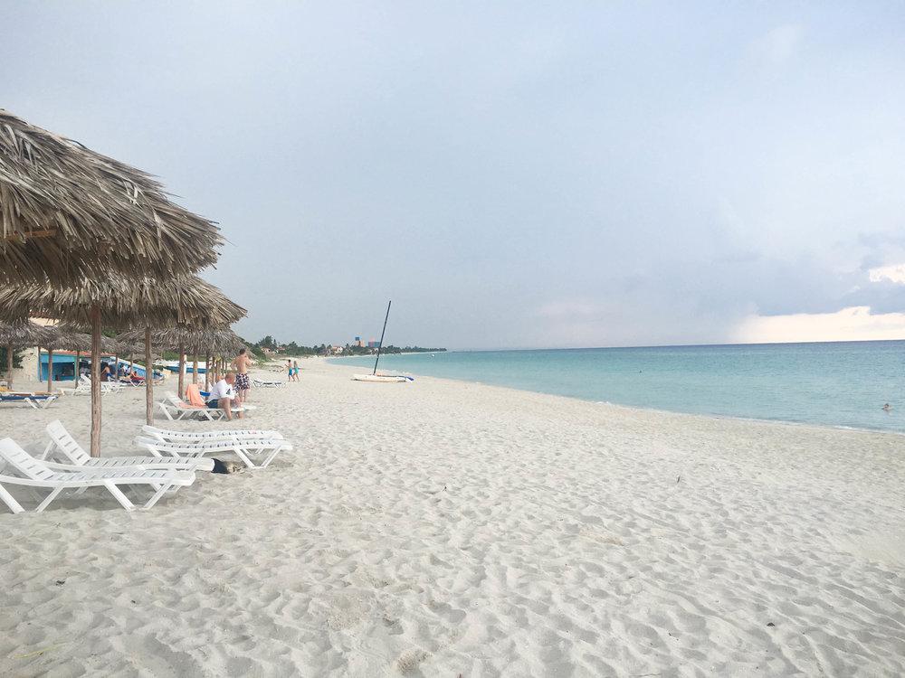 White sand beaches of Varadero