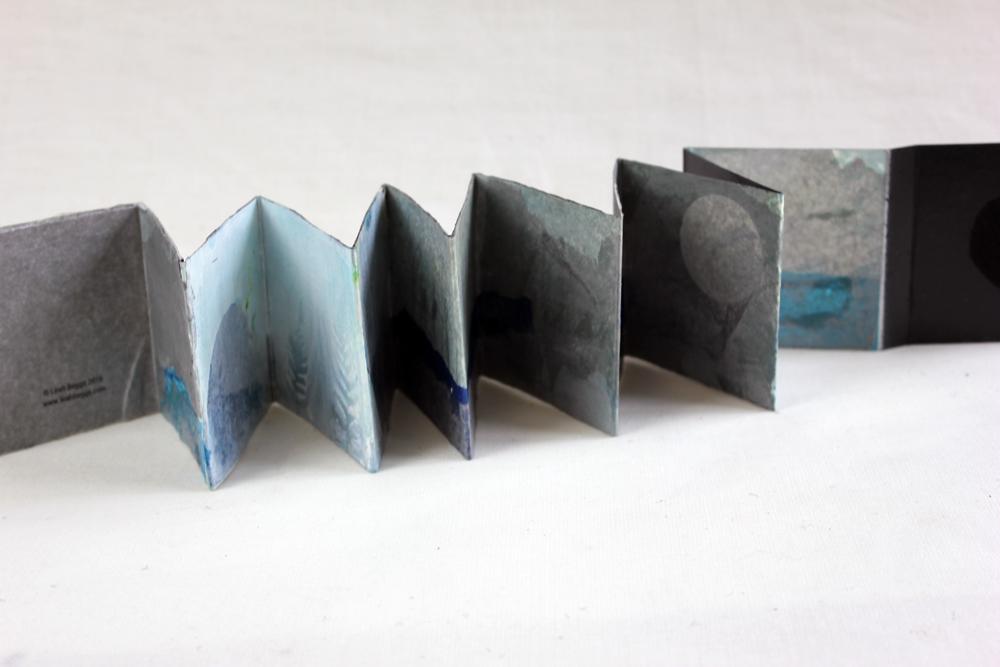 Leah Beggs  - Silver Lakeshore 2 - Artist Book - Accordian Style - 7.5 x 7.5 x 1.3cm (1).jpg