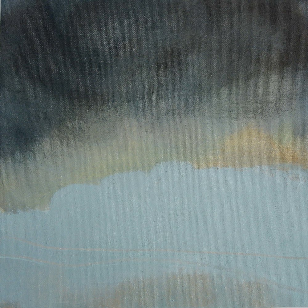 Leah Beggs 2008 - Incoming I-  Oil on unstretched Canvas - 25 x 25 cm_sml.jpg