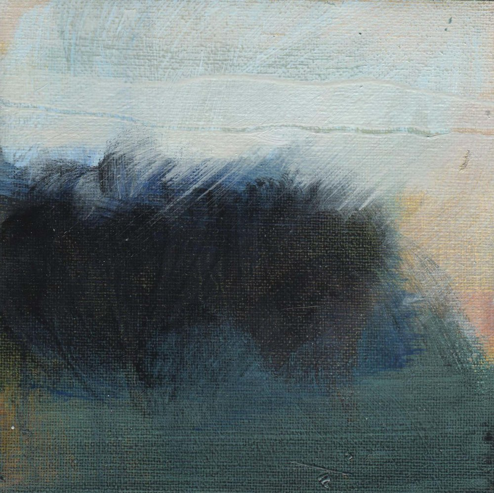 Leah Beggs 2008-Rain Settles at Cong Woods- Oil on Unstretched Canvas-15 x 15 cm_sml.jpg