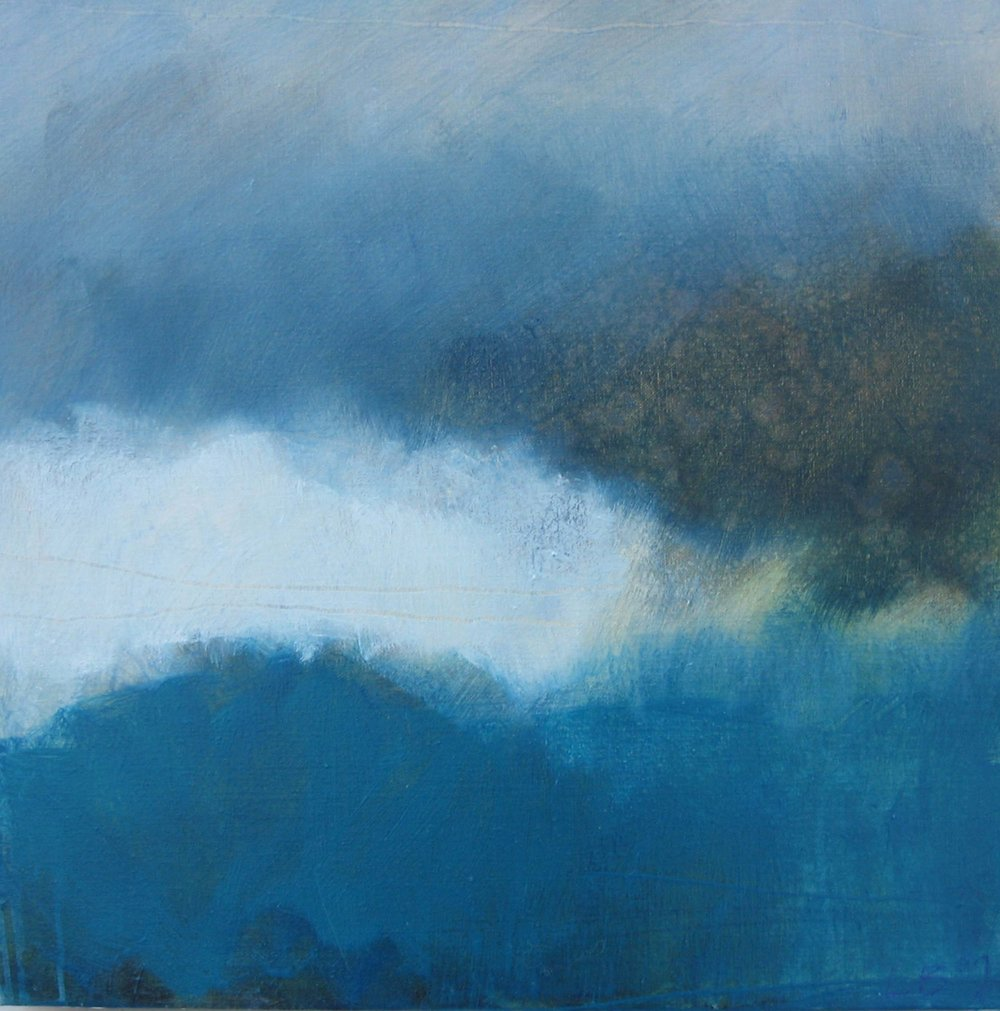 Leah Beggs 2009  Connemara Blues II- Oil on Canvas  - 41 x 41 cm_sml.jpg