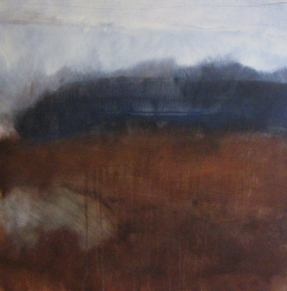 Leah Beggs 2009- October Sun at New Village - Oil on canvas 70 x 70cm_sml.jpg