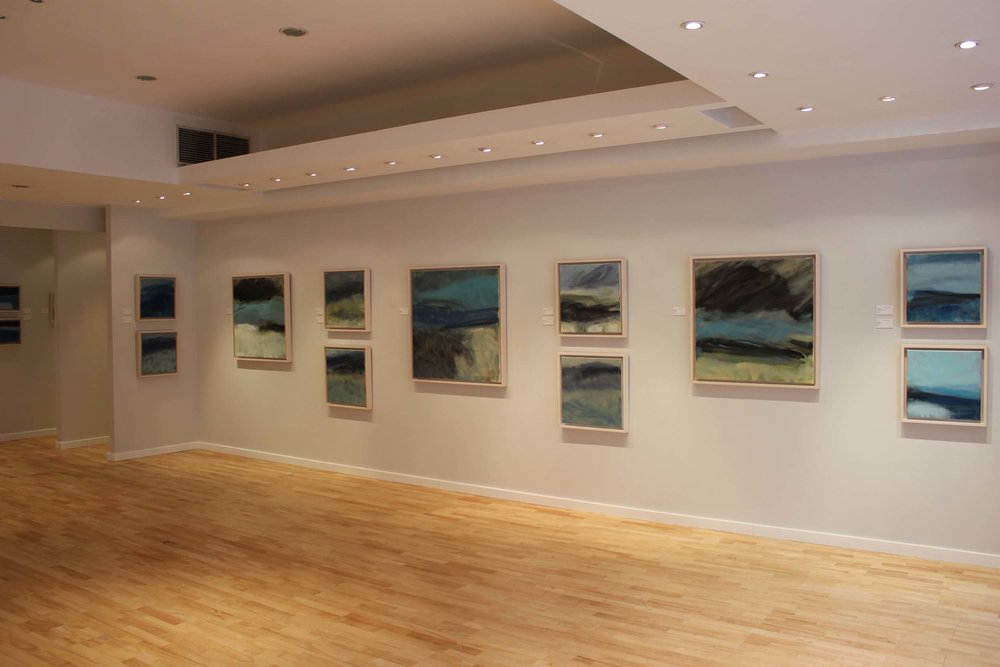 Installation view from 2014 Exhibition  - Wherever You Go, There You Are