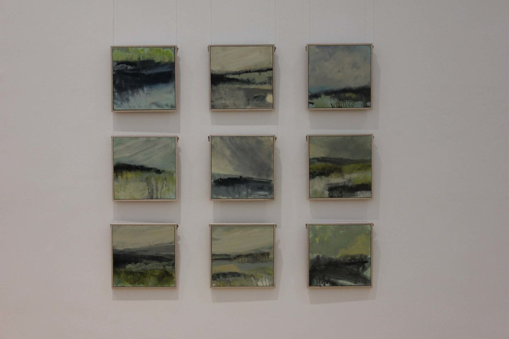 Installation view from 2013 Exhibition - Snapshots - A Connemara Journey