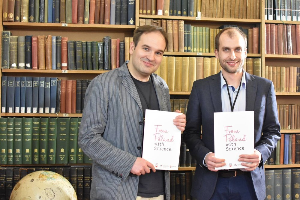 From Poland with Science: quantum physics & cryptography - Cambridge, UK | 7 March 2018