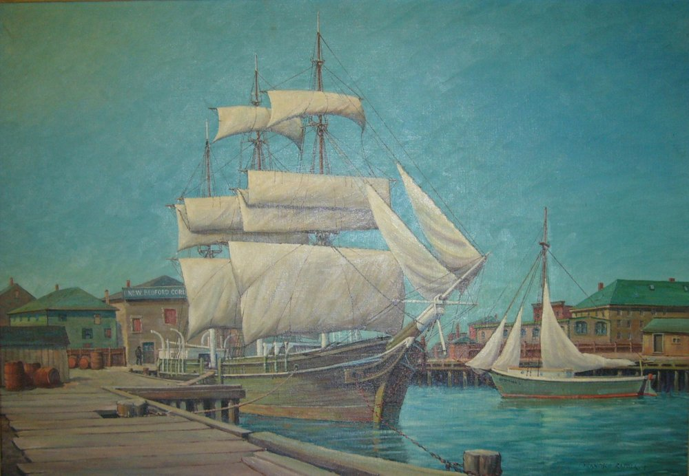"C.W. Morgan ""Drying Sails"""