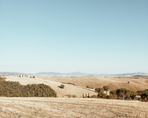 rolling tuscan hills. 2016