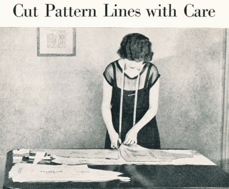 method of modern dress making. 1925