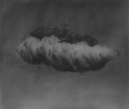 pigments on paper. ali kazim. 2013