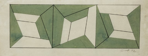 geometric abstraction art. 1950s